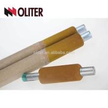 Oliter Usine d'acier liquide liquide utilisant une sonde à saturation d'oxygène dissous de type 10 à 1500 ppm