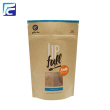 Supply for China Manufacturer of Kraft Paper Bags With Window, Kraft Tea Bag, Kraft Coffee Bag Accept Custom Logo Printed Mylar Bags export to Russian Federation Importers