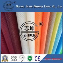 Nouveau tissu non-tissé de Spunbond de polypropylène de conception pour des sacs à provisions de mode