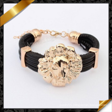 Fashion Leather Bracelets with Charms (FB091)