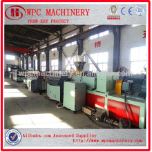 Ligne de production de panneaux de meubles WPC / Ligne de production en composite en plastique en bois