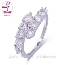 anneaux de diamant de luxe élégants anneaux de placage de rhodium hurrem sultan anneau Bijoux plaqués rhodium est votre bon choix