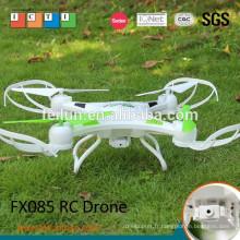 2015 quadcopter nouveau! Feilun FX085 2.4 G 4.5CH quadcopter rc en plastique de gyroscope 6 axes avec caméra HD