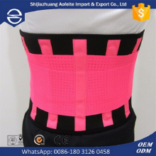 Sport support for back waist belt slimming