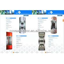 Elevador panorâmico seguro e confortável