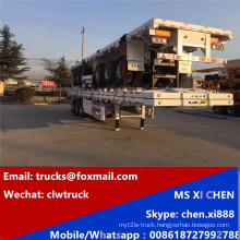 100tons 3 Axles Container Trnasport Trailer