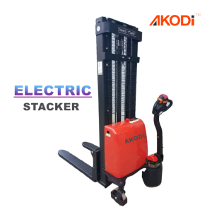 Kompak Walkie Electric Pallet Stacker 1 Ton