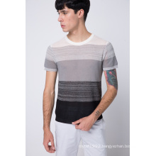 Fashion Summer Round Neck Short Sleeve Knit Men Sweater