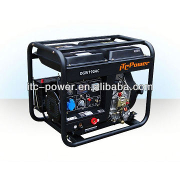 ITC-POWER Generador diesel (2.5kVA), soldadura diesel