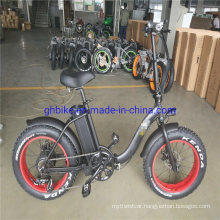 """Factory Sell 20"""" Folding Frame Fat Tire Lady Ebike Electric Bikes"""