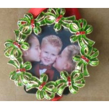 Alloy Mini Photo Frame For Christmas Promotional Gift