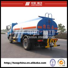 Camión del tanque de combustible del acero de carbono de 4X2 Faw 12000L para la entrega ligera del aceite de diesel (HZZ5162GJY) con el mejor servicio
