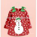 o terno da roupa do boutique das crianças do inverno congelou a roupa por atacado congelada das crianças do vestido