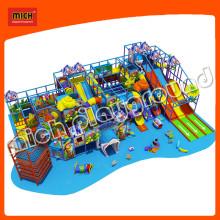 Équipement d'aire de jeux pour enfants doux avec plan d'affaires