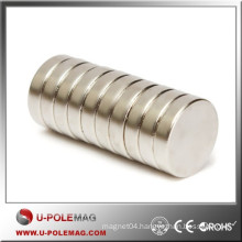 Hot Sale D45x15mm Disc Magnets Neodymium Axial 38M China