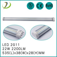 ฐาน 22W 180degree 2G11 / GY10 ฐาน 535mm led tube