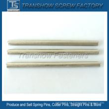 Clavijas rectas sólidas de 6 mm