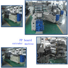 Hs HDPE / LDPE / LLDPE / PE / PP Extrusão Máquinas Plástico