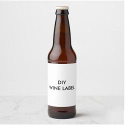 Wholesale custom wine  bottle sticker printing