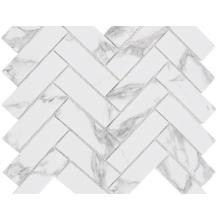 Impression de mosaïque en marbre naturel de Carrare pour les maisons