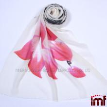 Ручной печатный шарф 100% Кашемир Пашмины Шарфы