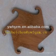 estera de bambú vendedora caliente