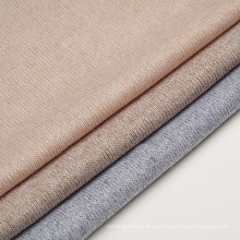 Hacci Knit Fabric Tejido de rayón de poliéster con hilo de mezcla