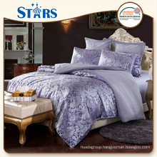GS-JAC-12 new arrival 100% polyester bedding set for couple
