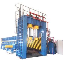 Tesoura de pórtico de placa de sucata de resíduos industriais hidráulicos