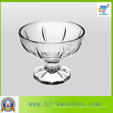 Round Ice Cream Cup Dessert Glass Bowl Sweet Candy Bowl