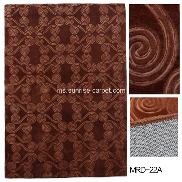 Flame-retardant Wall to Wall Embossing Carpet