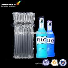 Coluna de airbags ou embalagem de bolsa inflável de ar para garrafa de vinho