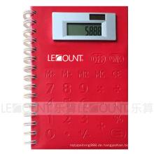 Multifunktions-Notebook-Rechner mit großem Raum für Logo (LC808B)