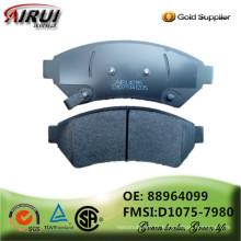 NOA, almofadas de freio de disco, qualidade do OE, fabricante da almofada de freio (OE: 88964099 / FMSI: D1075-7980)