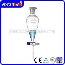 JOAN LAB 2000ML Enrollador Separador de Vidrio de Forma de Pera con Tapón de PTFE