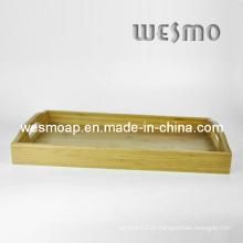Bandeja de servir da cozinha do bambu (WBB0402C)