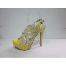 Sandálias de Salto Alto Fshion para Mulheres (HCY03-061)