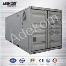 Compresseur à air à vis rotative à système conteneurisé avec sécheur à air