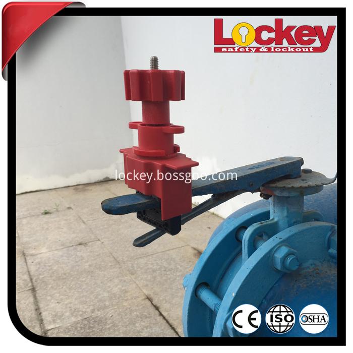 universal valve lockout