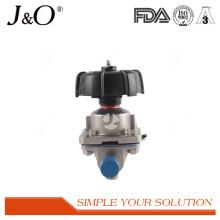 Nouvelles valves sanitaires de diaphragme d'acier inoxydable de conception avec la soudure