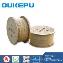 melhor produto plana de papel kraft coberto de fio de alumínio para transformador