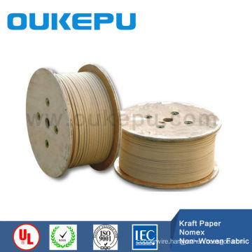 best product Flat kraft paper covered aluminium wire for transformer