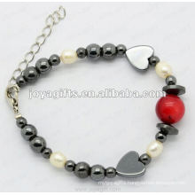 Fashion pearl bracelet multi strand