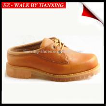 sapatos de segurança de couro com pé de aço