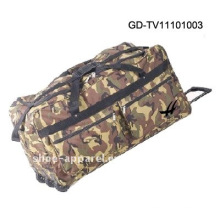 bolsa de viaje de camuflaje trolley militar
