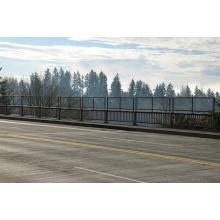 Valla de puente de alambre de acero con poco carbono S0246