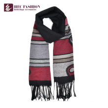 HEC OEM Trending Hot Products 64*200cm Fashionable Long Plain Scarf For All Season