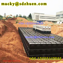 Good quality 1x1m panel sectional steel underground water tank for drinking water