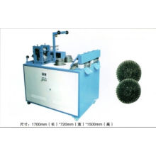 Double needle Washing Steel Wire Cleaning ball