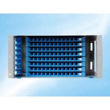 Marco de distribución de fibra óptica para montaje en rack de 96 núcleos